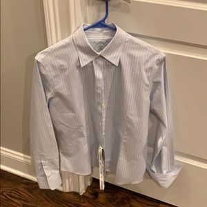 Women's striped Brooks Brothers button down NEW